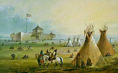 Fort Laramie 1858
